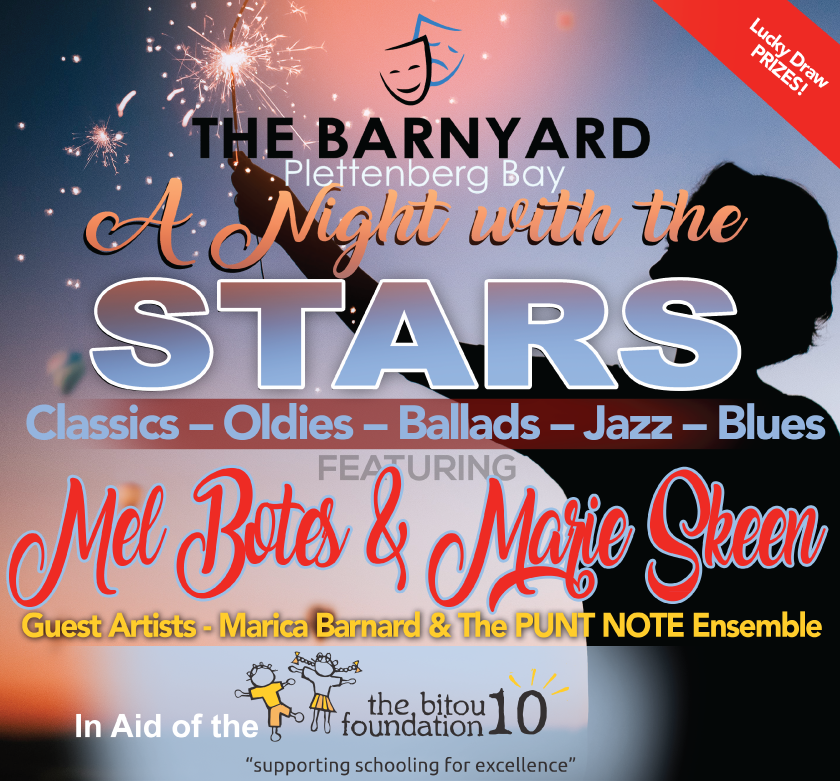 Invitation to a Night with the Stars at the Barnyard