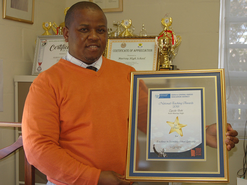 Tata Zinzile Bobi miracle principal of Murray High School